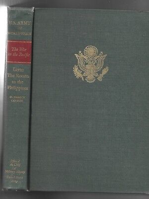 US Army The War in the Pacific: Leyte: The Return to the Phillippines, 1973 HC