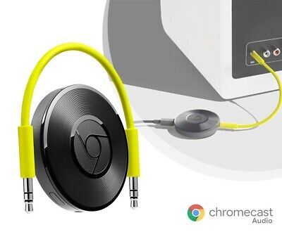 NEW Google Chromecast Audio Streamer - (Black) - F/S Units