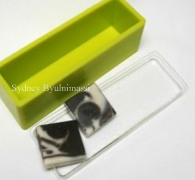 1kg Square mould with acylic lid (Silicone Mould) Mold