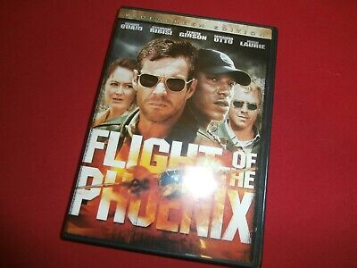 FLIGHT OF THE PHOENIX (2004) Movie + Extras DVD Widescreen ~ FREE SHIPPING!