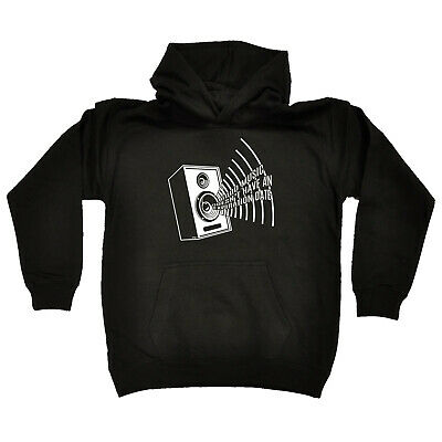 Funny Kids Childrens Hoodie Hoody - Good Music Doesnt Have An Expiration Date
