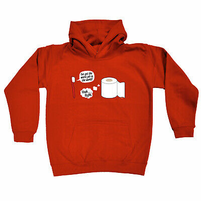 Funny Kids Childrens Hoodie Hoody - Ive Got The Worst Job In The World