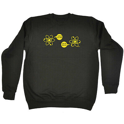Funny Kids Childrens Sweatshirt Jumper - I Lost An Electron Are You Positive