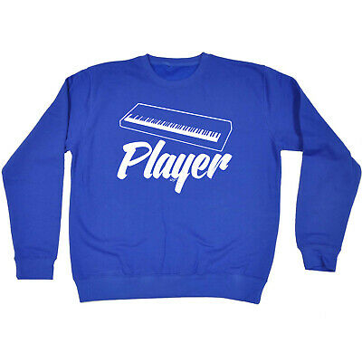 Funny Kids Childrens Sweatshirt Jumper - Keyboard Player