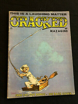Cracked #32/1963/VG+/Severin Art!Great Humor and Art!
