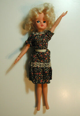 "SINDY Marx Doll & Dress Blonde 11"" Vintage 2 GEN 1077 1978"
