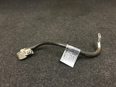 Mercedes W220 Oem Rear Trunk Negative Ground Battery Terminal Pole Wire Cable