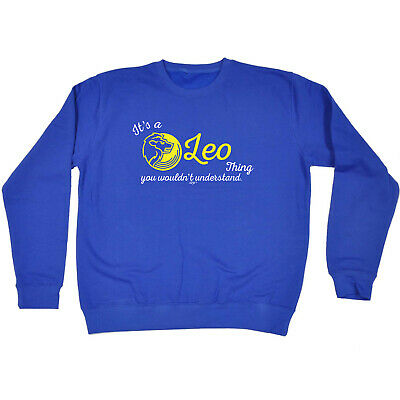 Funny Kids Childrens Sweatshirt Jumper - Star Sign Its A Leo Thing You Wouldnt U