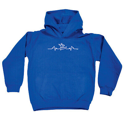 Funny Kids Childrens Hoodie Hoody - Surf Pulse
