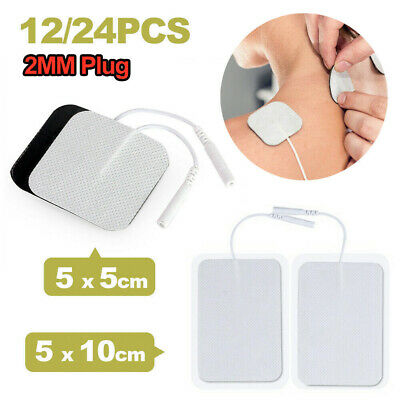TENS Machine Replacement Electrode Pads Self Adhesive 5x5cm 5x10cm 12/24PCS