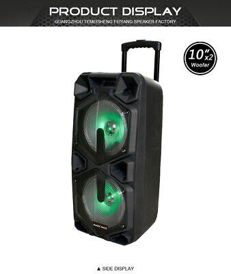MG SP-210RBT Rechargeable Karaoke Party Speaker System Bluetooth 4000w MagicBass