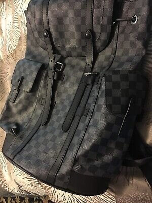 820f62fa0fc LOUIS VUITTON CHRISTOPHER Backpack PM Damier Graphite