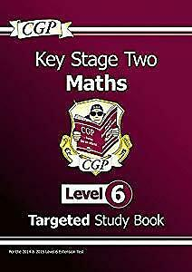 KS2 Maths Study Book: Level 6 - for SATS until 2015 only, CGP Books, Used; Good