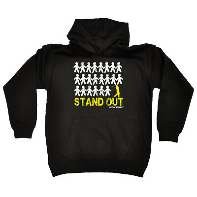 Golfing Kids Childrens Hoodie Hoody Funny - Golf Stand Out Golfer