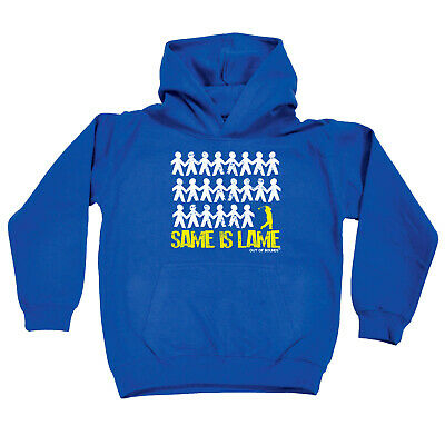 Golfing Kids Childrens Hoodie Hoody Funny - Golf Same Is Lame Golfer