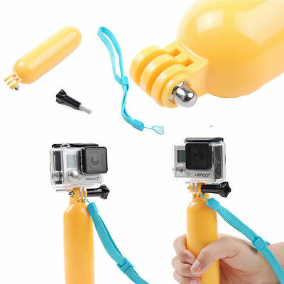 Floating Hand Grip Handle Mount Accessory + Strap For GoPro Hero 3+ 3 2 1 bg