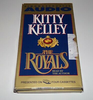 The Royals by Kitty Kelley Cassette Tapes (1997, Cassette, Abridged)