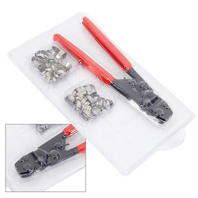 """US PEX Stainless Steel Cinch Crimper Crimping Tool 3/8""""1/2""""5/8""""3/4""""1""""Clamps Kits"""