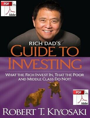 Rich Dad's Guide To Investing By Robert T Kiyos  **eBook/PDF Instant Delivery**