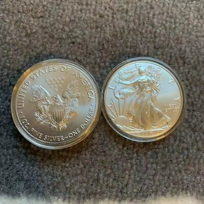 Lot of 10 Coins - 2017 American Silver Eagle 1 oz Coins