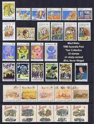Australia Post Year Collection 1990 (53) MNH GREAT Set of Aussie Stamps! SPECIAL