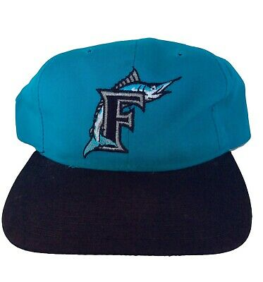 VINTAGE FLORIDA MARLINS Snapback Hat 90s New Era Pro Model NWT MLB ... 2639264afd07