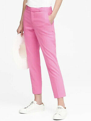 551870a65bd23 NWT Banana Republic  98 Women Avery Straight-Fit Lightweight Wool Ankle Pant  4