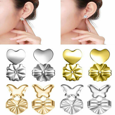 Magic Bax Earrings Backs Lifters Firmly Supports Fit Gold Silver Jewelry Elegant