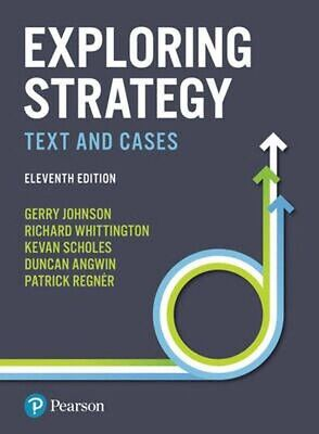 Exploring Strategy Text And Cases 11th Edition by Johnson Scholes Digital PDF