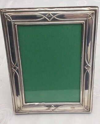 A Beautiful Big Antique Vintage Solid Silver Photo Frame Photo Stand Hallmarked