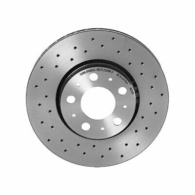 Brembo Front Left or Right Xtra Brake Disc Rotor Drilled for Volvo S60 V70 XC70