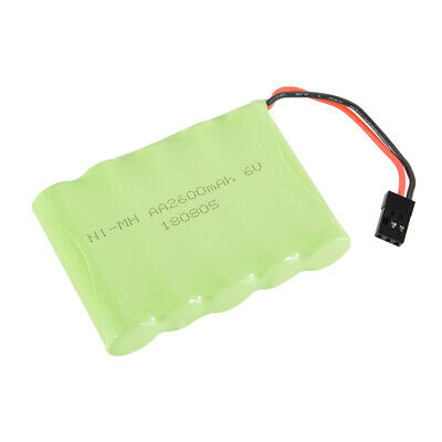 AA NI-MH 6.0V 2600mAh Rechargeable Flat Batterie Pack pour RC Car Futaba BC757
