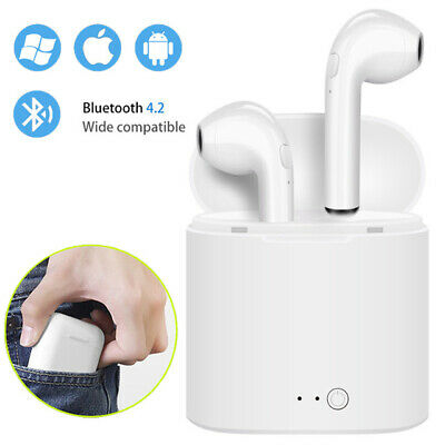 I7s-TWS True Earbuds Wireless Bluetooth4.2 Stereo Headset-Earphone with Charger