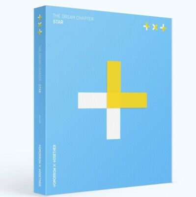 TOMORROW X TOGETHER TXT [THE DREAM CHAPTER : STAR] CD+P.Book+3p P.Card+Sticker
