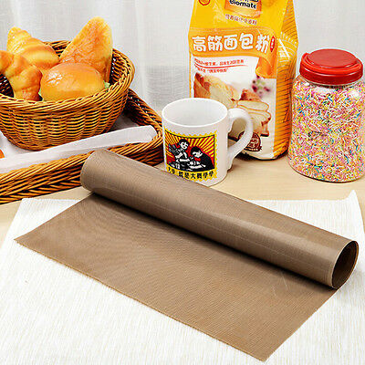 Pastry Baking Paper Tray Oven Rolling Kitchen Bakeware Mat Sheet FEH