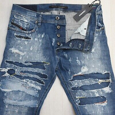 3dcaef63 DIESEL Jeans TEPPHAR 0671J STRETCH Slim-Carrot Limited Edition W32-L32