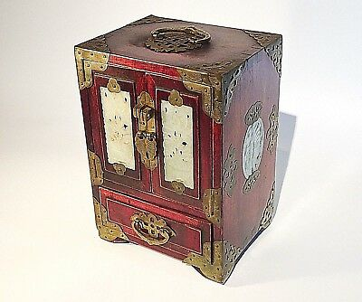 Jewel Box Joyero Chinese Cabinet Miniature