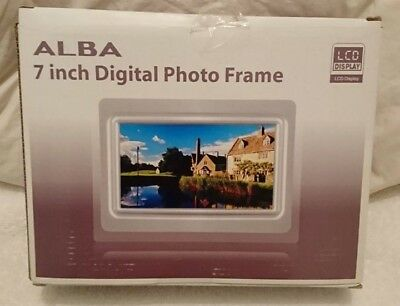 Alba 7 inch digital Photo frame DPF070AW - bought as a present and never used.