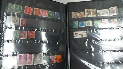 Stamp Album And Collection Of Stamps