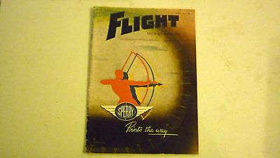 Flight & Aircraft Magazine, Jul 1945, Great Advertising, Commercial & Military 3