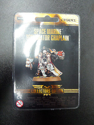 Rare Limited Edition Warhammer 40k Space Marine Terminator Chaplain [New OVP]