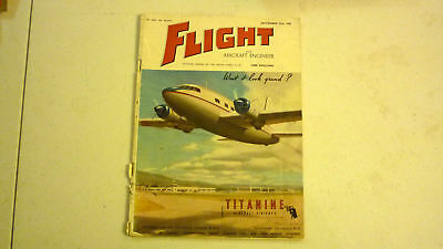 Flight & Aircraft Magazine, Sep 1945, Great Advertising, Commercial & Military 1