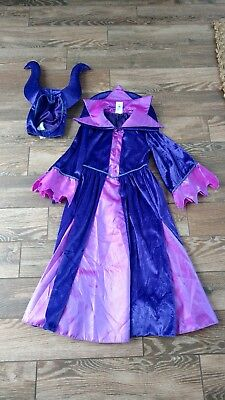 Disney Store Authentic Villains Maleficent Girls Costume