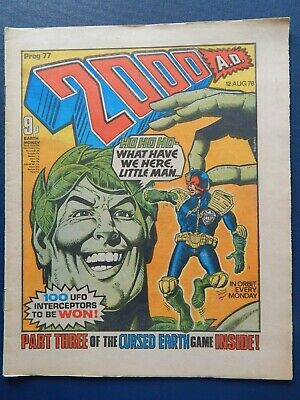2000 A.d. - Prog # 77 - Banned Issue - 12 August 1978
