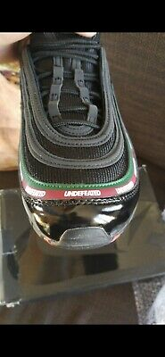NIKE AIR MAX 97 undefeated schwarz 44,5 EUR 400,00
