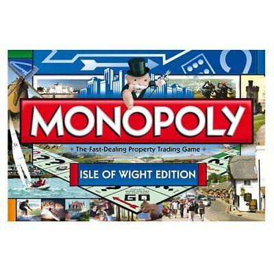 Monopoly - Isle of Wight Monopoly Board Game - 016759