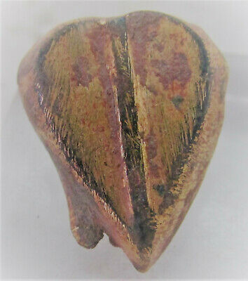 Detector Finds Ancient Love Heart Shaped Mount With Gold Gilt
