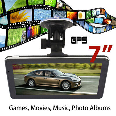 "99D1 7"" GPS Navigator FM Radio Built-In European Map Truck Navigator"