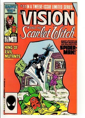 The Vision and the Scarlet Witch #11 SPIDER-MAN BLACK SUIT APPEARANCE VF- 7.5