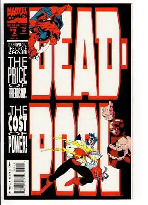 Deadpool #2 (Sep 1993, Marvel) CIRCLE CHASE PART 2 NM 9.4 1ST SOLO SERIES